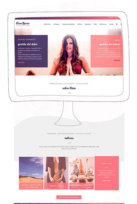 Diseño de paginas web Elma Roura